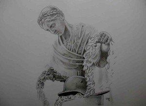 crayon : monument 2 dans crayon graphite 3-300x219