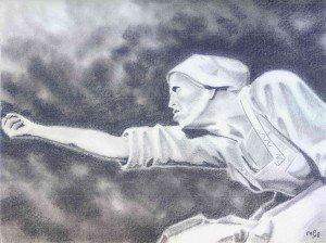 crayon : Peronne dans crayon graphite 6-300x224
