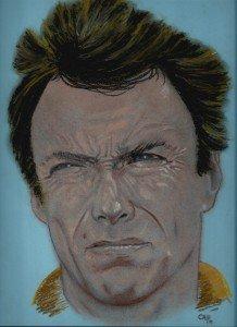 pastel : clint dans pastel Eastwood-218x300