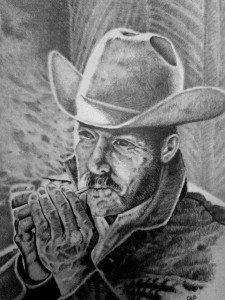 crayon  graphite : la cigarette dans crayon graphite marlboro-225x300
