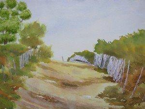 aquarelle chemin blanc dans aquarelle aquarelle-chemin-blanc-300x225