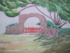 aquarelle sous les arbres 2 dans aquarelle sous-les-arbres-2-300x225