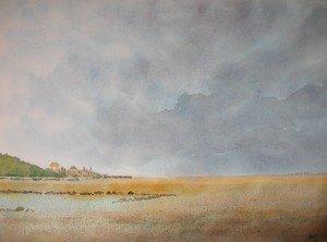 aquarelle ciel d'orage dans aquarelle aquarelle-ciel-dorage-300x222