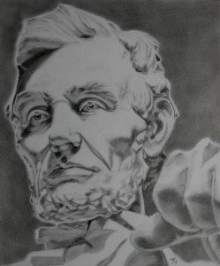 CRAYON GRAPHITE : LINCOLN MONUMENT dans crayon graphite crayon-graphite-lincoln-monument-249x300